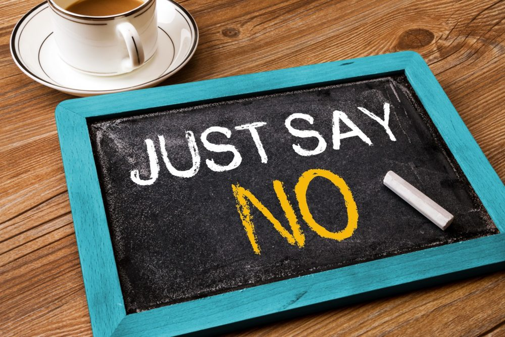 learn to say no for high value results damien o farrell